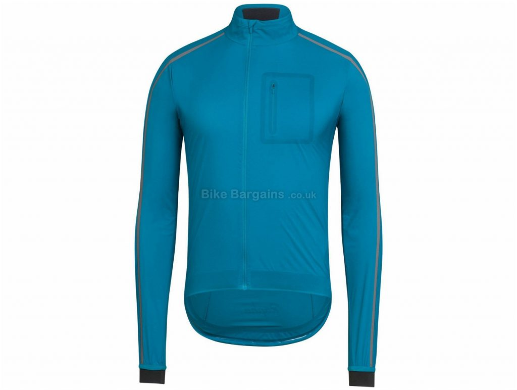 Rapha Classic Wind II Jacket XS,S,M,L,XL, Blue,  Long Sleeve