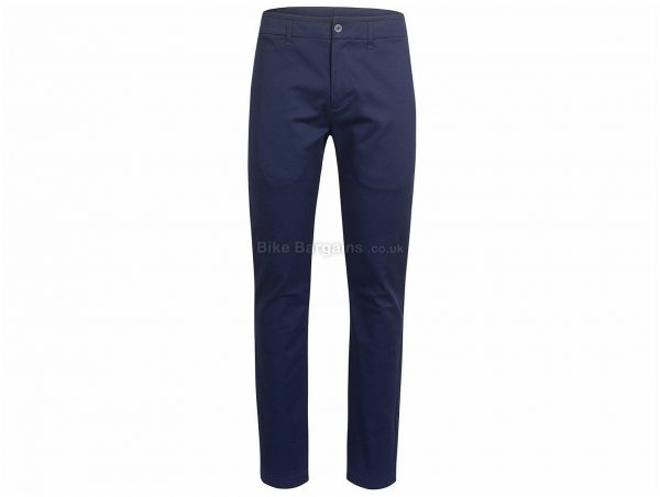Rapha Cotton Relaxed Fit Trousers XS, Blue, Cotton, Relaxed Fit