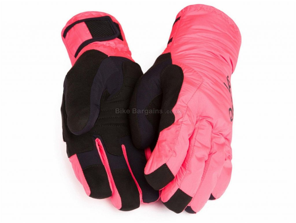 Rapha Deep Winter Full Finger Gloves XL, Pink, Full Finger