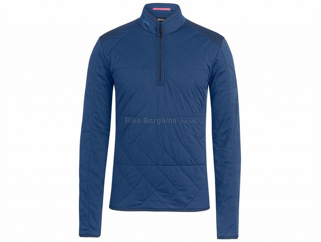 Rapha Insulated Long Sleeve Sweatshirt XS, Blue