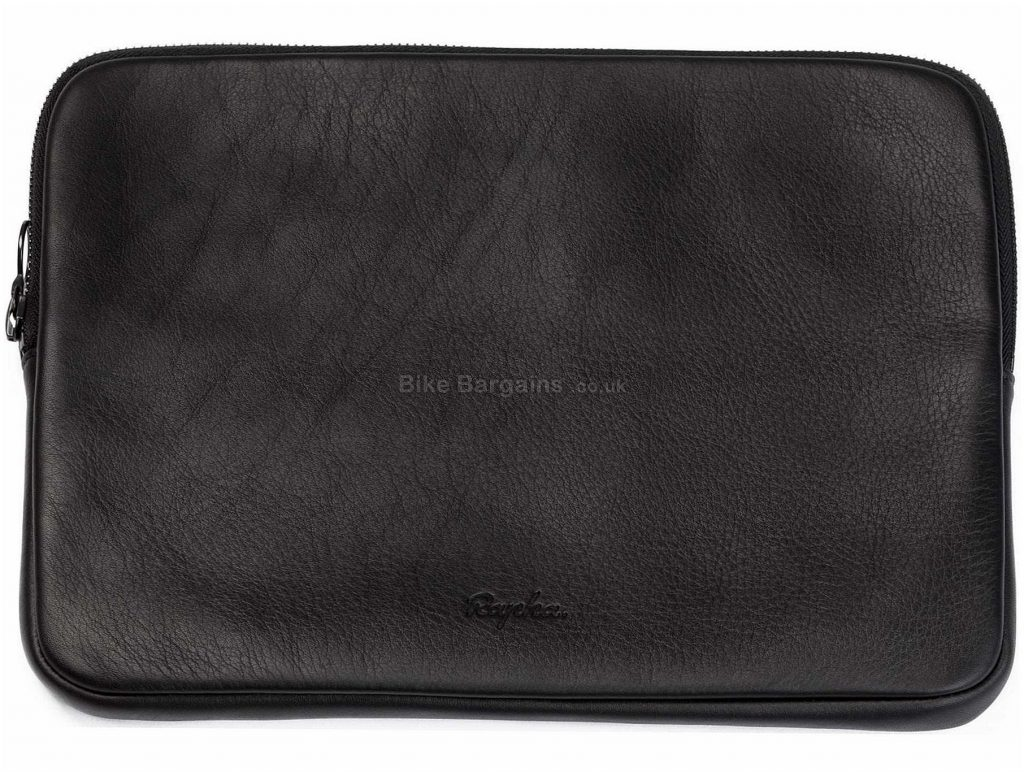Rapha Large Leather Pouch One Size, Black