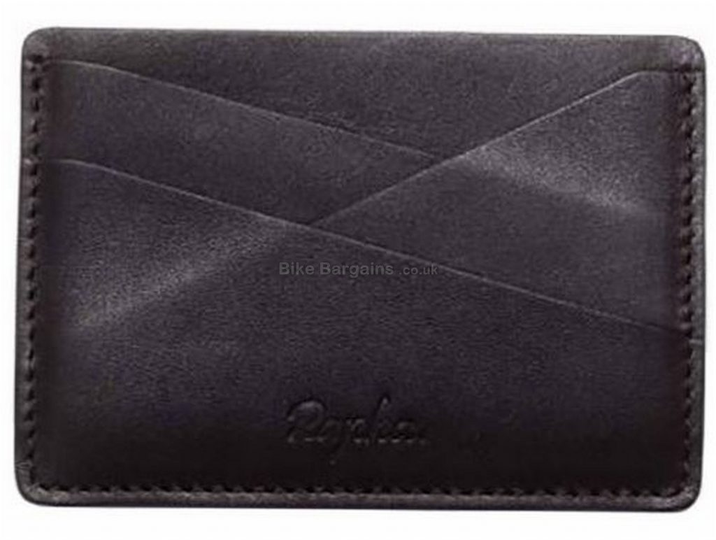 Rapha Leather Card Holder One Size, Black