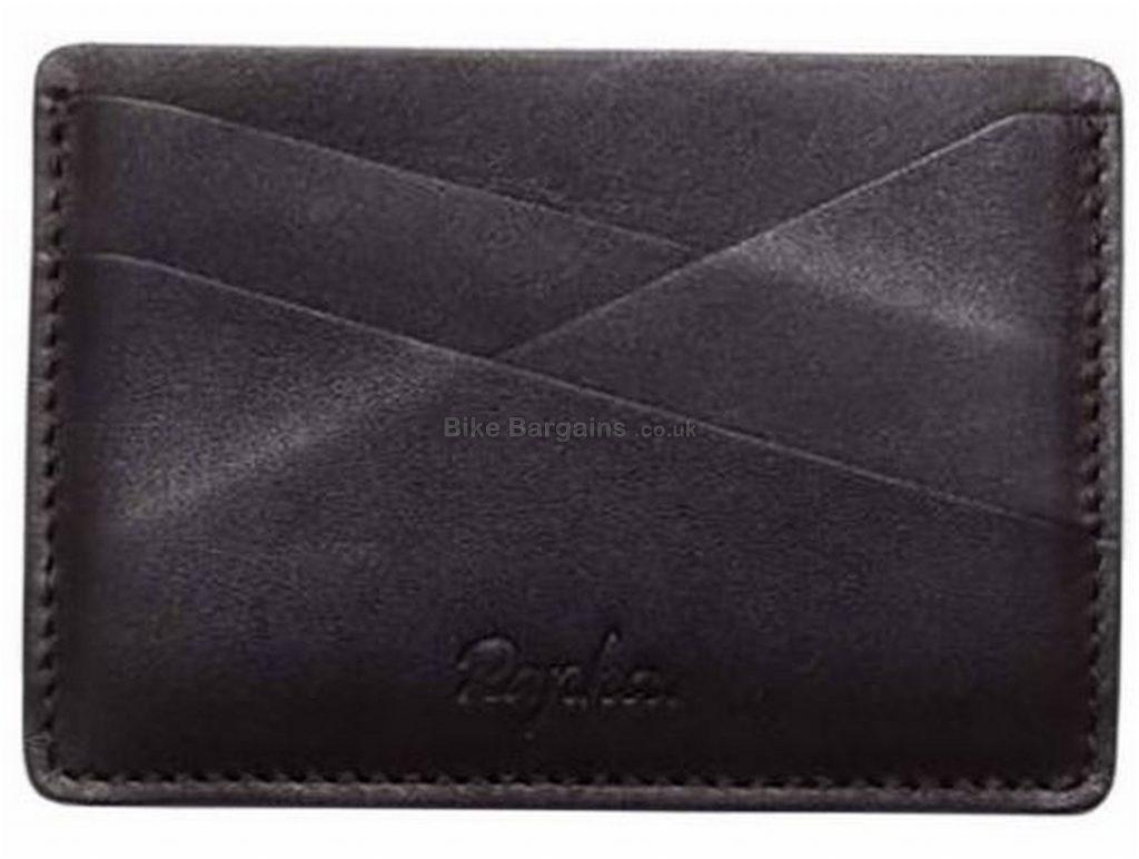 Rapha Leather Card Holder One Size, Black