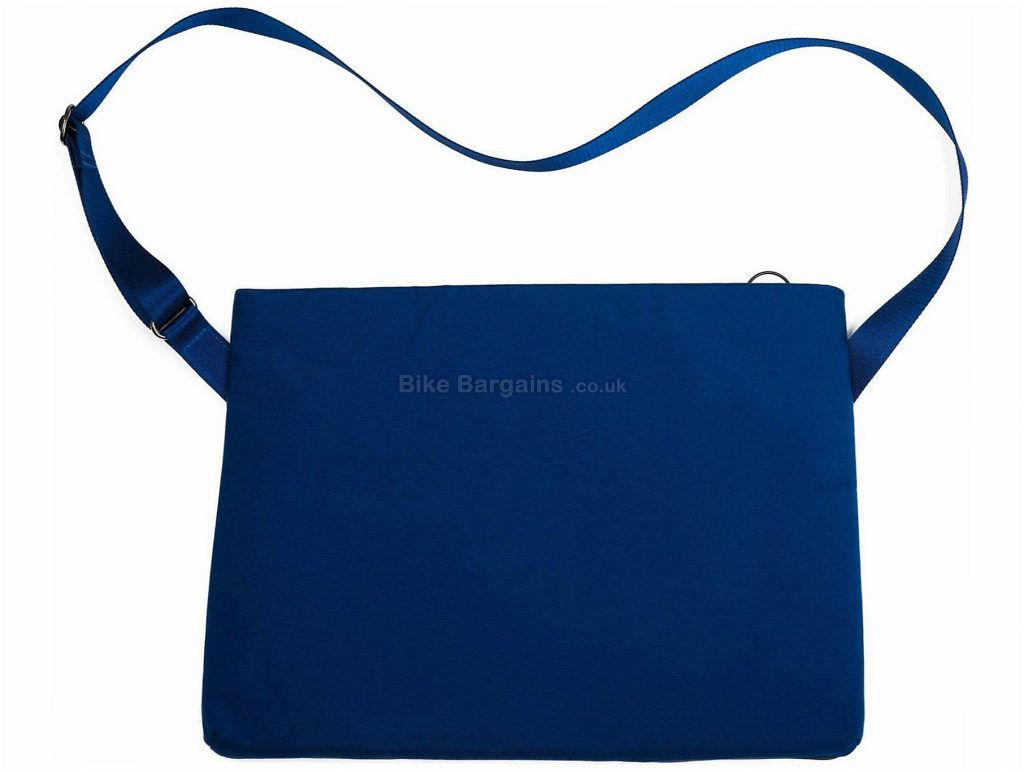 Rapha Leather Small Musette One Size, Blue