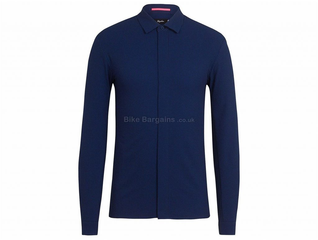 Rapha Long Sleeve Summer Wicking Shirt XS, Blue