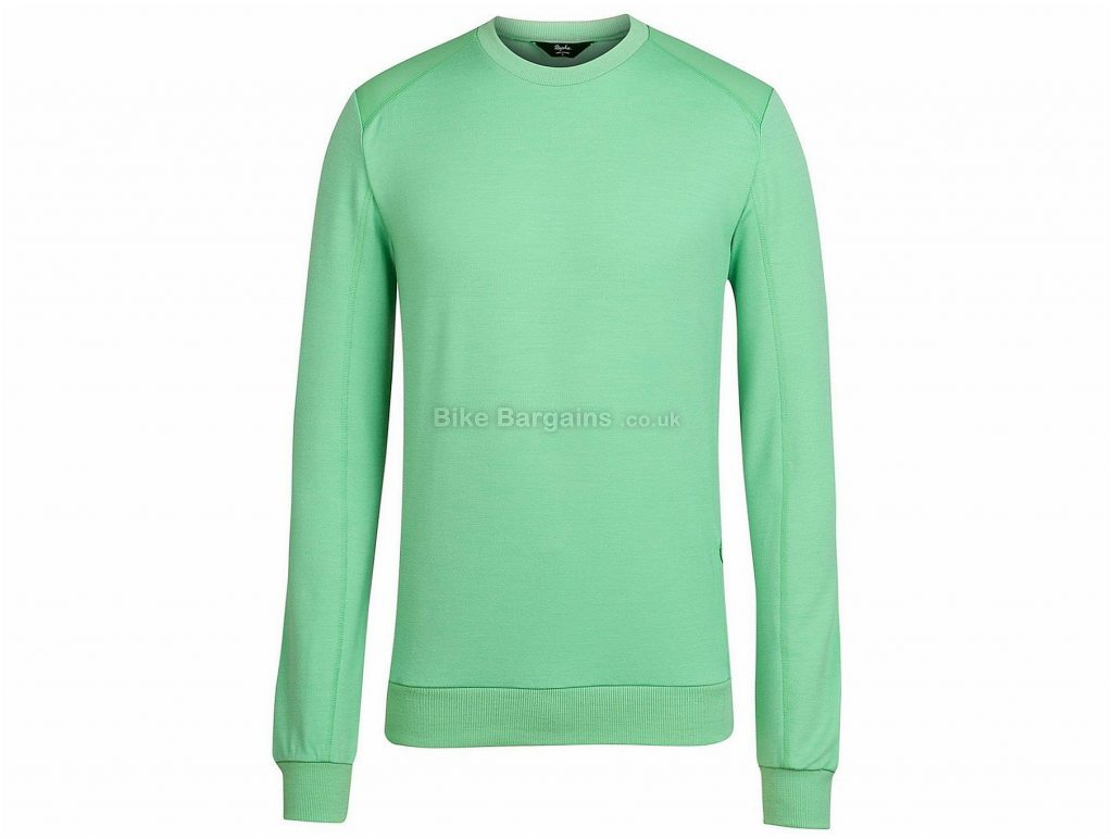 Rapha Merino Long Sleeve Sweatshirt 2014 XS, XXL, Green