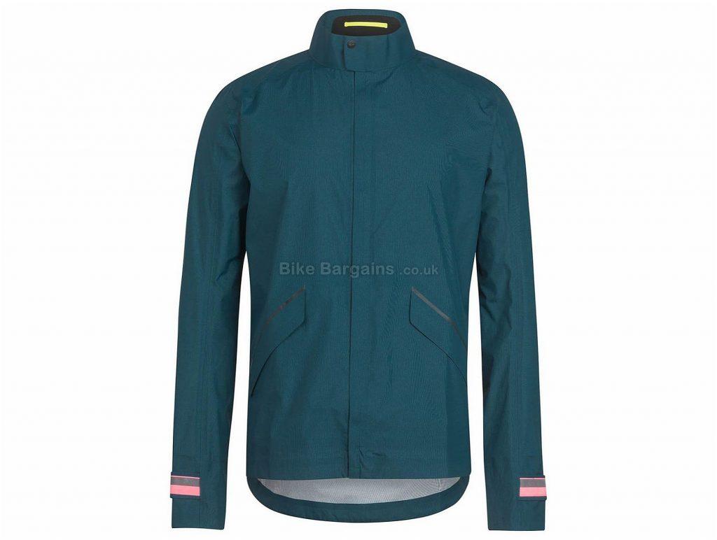 Rapha Packable Waterproof Long Sleeve Jacket XS, Blue