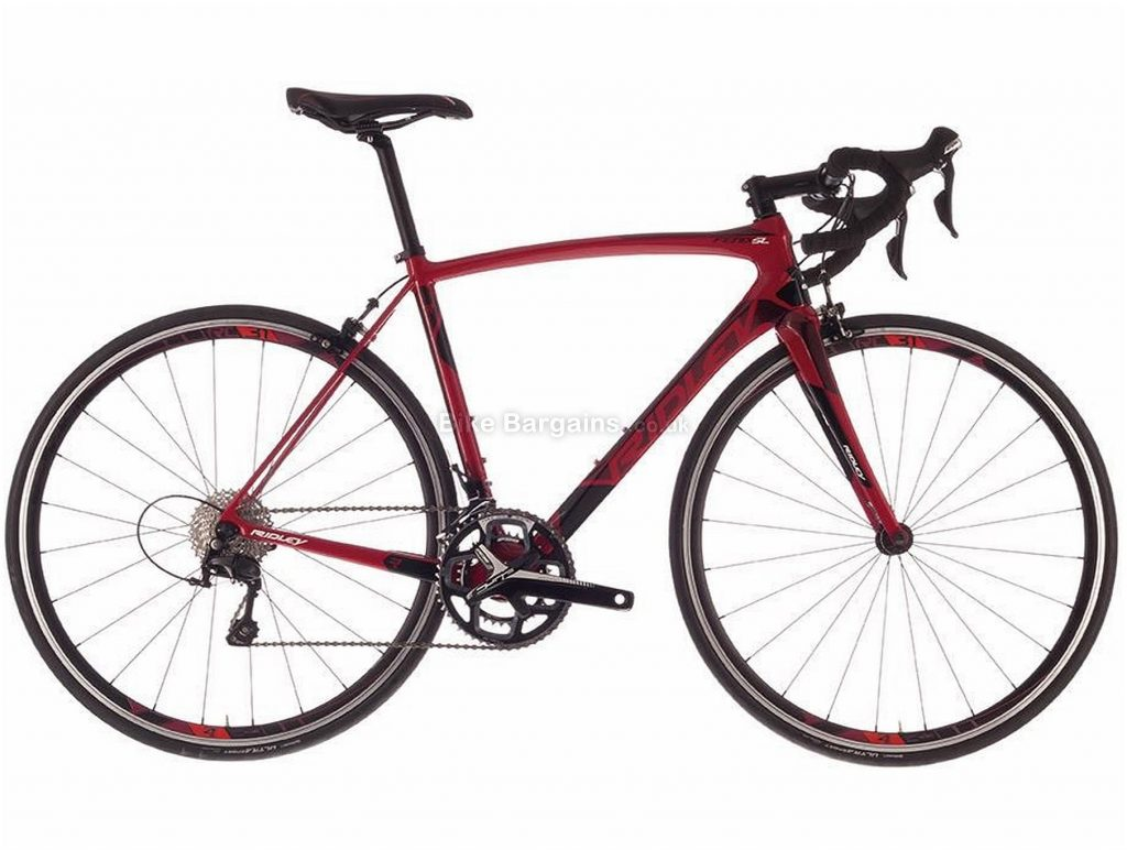 Ridley Fenix SL Carbon Road Bike 2017 M, Red, Carbon, 700c, 22 Speed, Caliper Brakes
