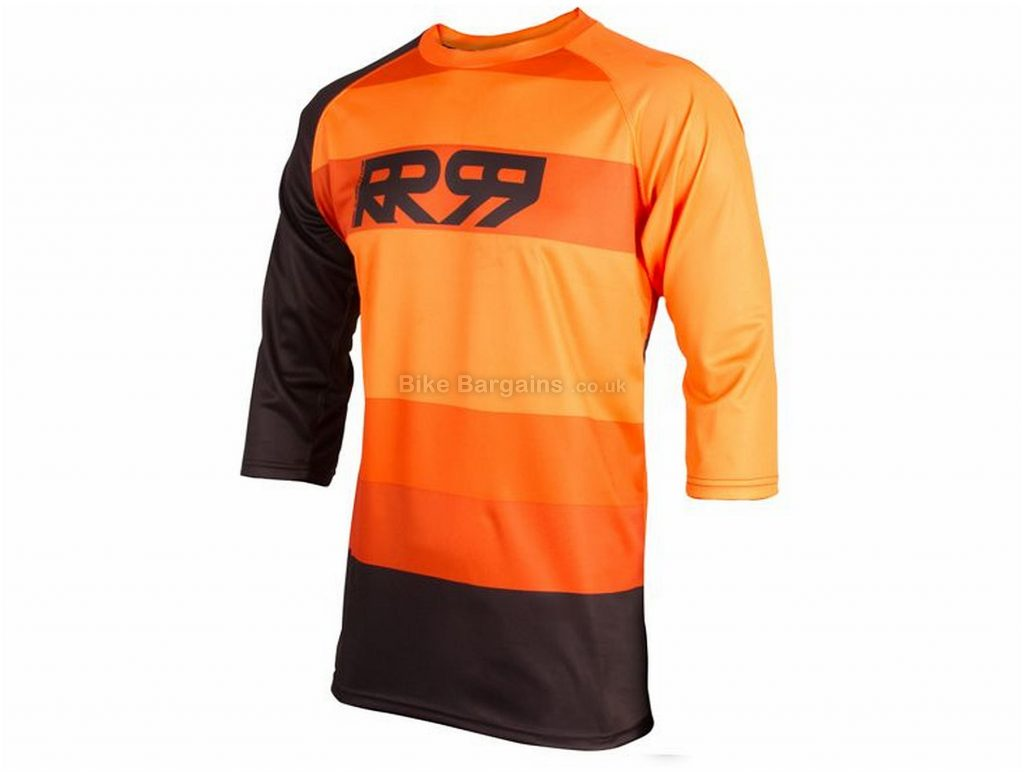 Royal Drift 3/4 Length MTB Jersey 2018 XS, S, M, L, XL, Grey, Yellow, Blue