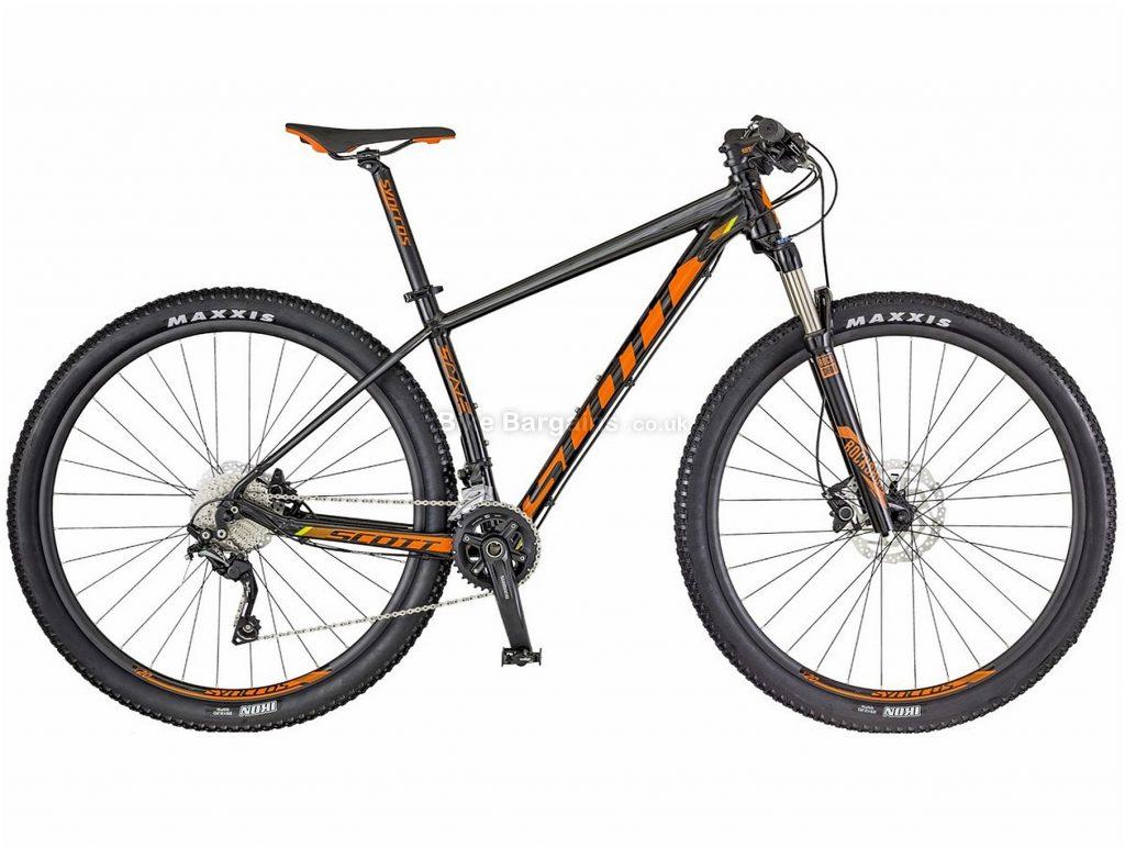 "Scott Scale 970 29er Alloy Hardtail Mountain Bike 2018 S, Grey, Orange, Alloy, Hardtail, 29"", 20 Speed, 12.9kg"