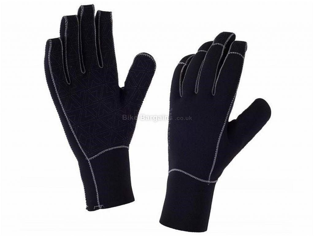 Sealskinz Neoprene Full Finger Gloves XXL, Black, Red, Full Finger