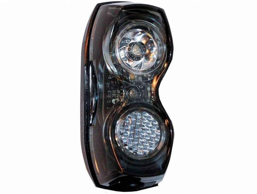 Smart TL321-WW-02 20L USB Rechargeable Front Light 20 Lumens, Black, 44g, 5hr runtime
