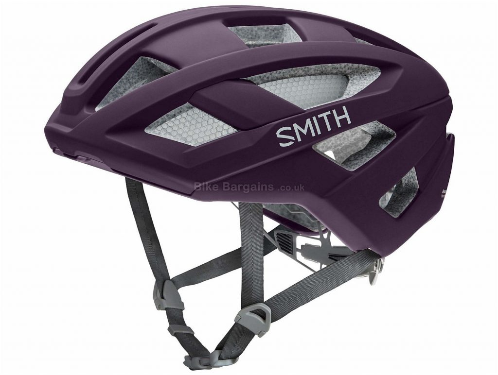 Smith Route MIPS Helmet 2017 S, Green, 18 vents, 343g