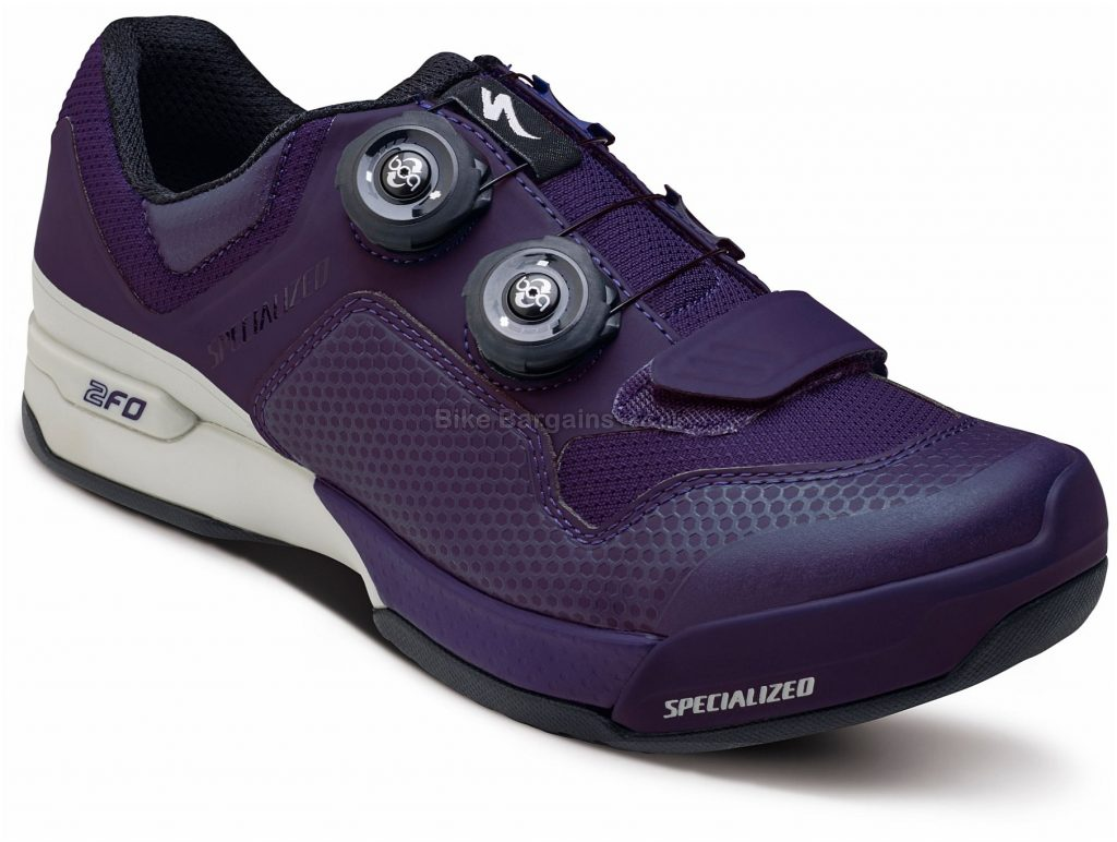 Specialized Ladies 2FO Cliplite MTB Shoes 2017 37, Purple, White, 345g