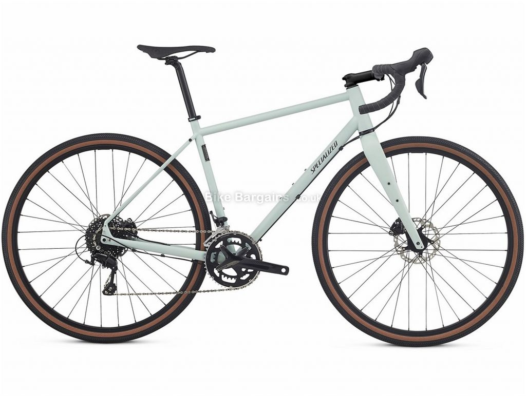 Specialized Sequoia Elite Disc Steel Road Bike 2018 58cm, White, Steel, 700c, 22 Speed, Disc Brakes