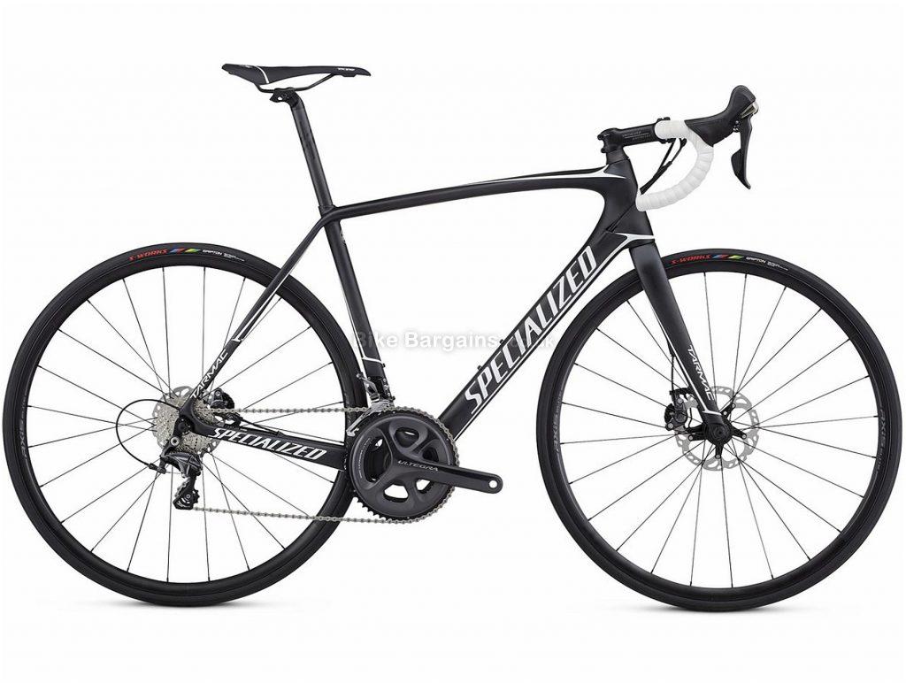 Specialized Tarmac Comp Disc Carbon Road Bike 2017 49cm, Black, White, Carbon, 700c, 22 Speed, Disc Brakes