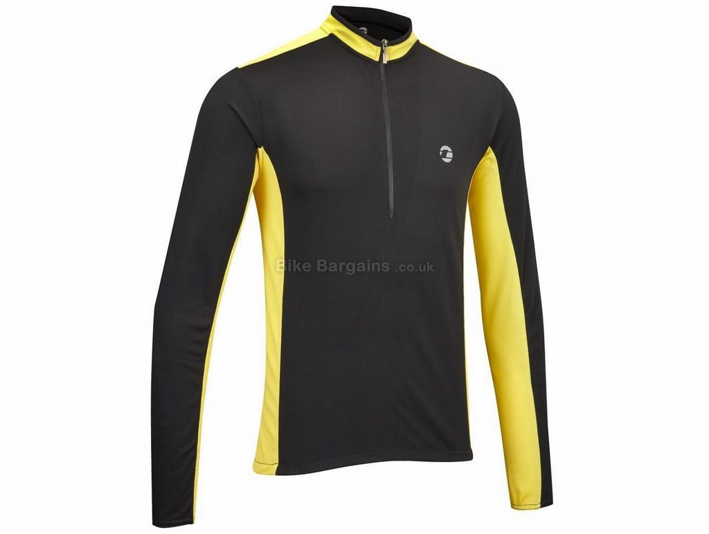 Tenn Cool Flo Breathable Long Sleeve Jersey S,M,L,XL, Black, Yellow, Long Sleeve