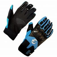 Tenn Knuckle Leather Carbon Full Finger MTB Gloves