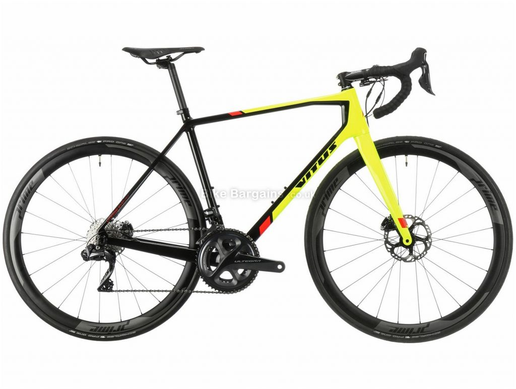Vitus Vitesse Evo CRi Disc Ultegra Di2 Carbon Road Bike 2018 58cm, Green, Black, Carbon, 700c, 7.99kg, 22 Speed, Disc