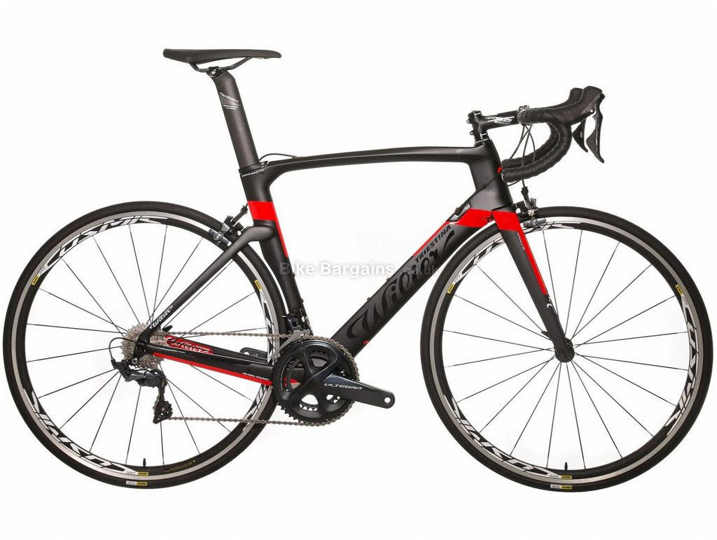 Wilier Cento1 Ultegra Air Carbon Road Bike 2019 45cm, Black, Red, Carbon, 700c, 8.0kg, 22 Speed, Calipers