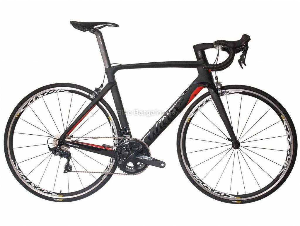 Wilier Cento10 Air Ultegra Carbon Road Bike 2018 50cm,52cm, Black, Red, Carbon, 700c, 7.6kg, 22 Speed, Calipers