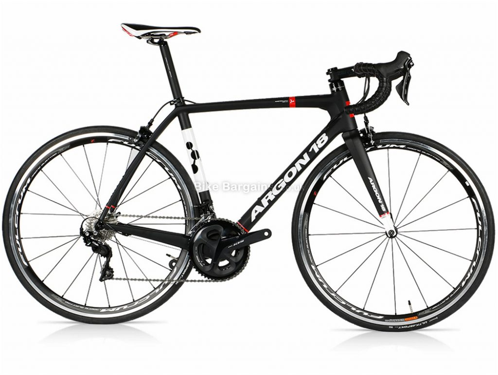 Argon 18 Gallium 105 R7000 Carbon Road Bike XXS,XS,S,M,L,XL, Black, White, Carbon, Calipers, 22 Speed, 700c