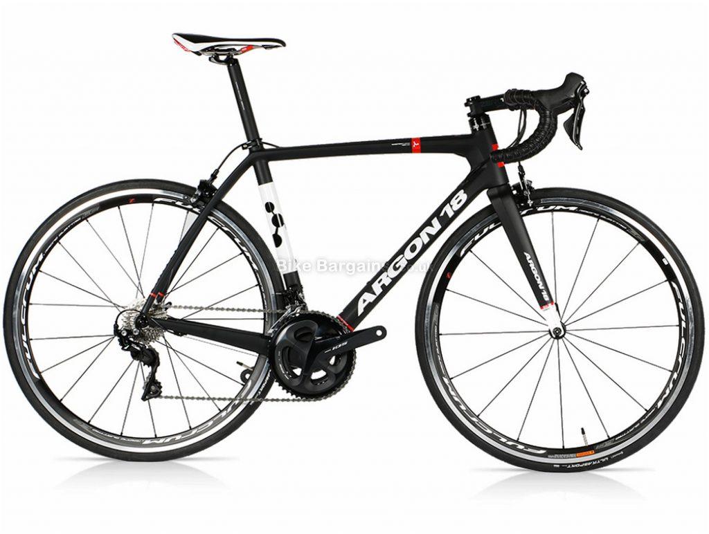 Argon 18 Gallium 105 R7000 Carbon Road Bike XXS,XS,S,M,L,XL, Black, White, Carbon, Calipers, 22 Speed, 700c