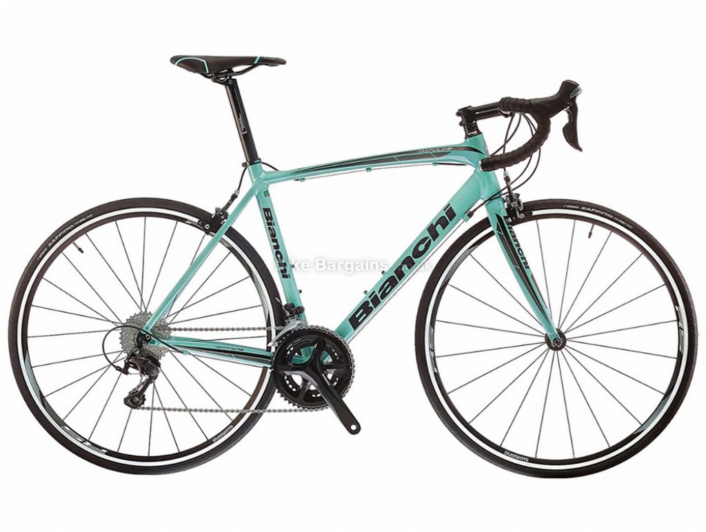 Bianchi Impulso 105 Alloy Road Bike 2018 53cm, Turquoise, Alloy, Calipers, 22 Speed, 700c