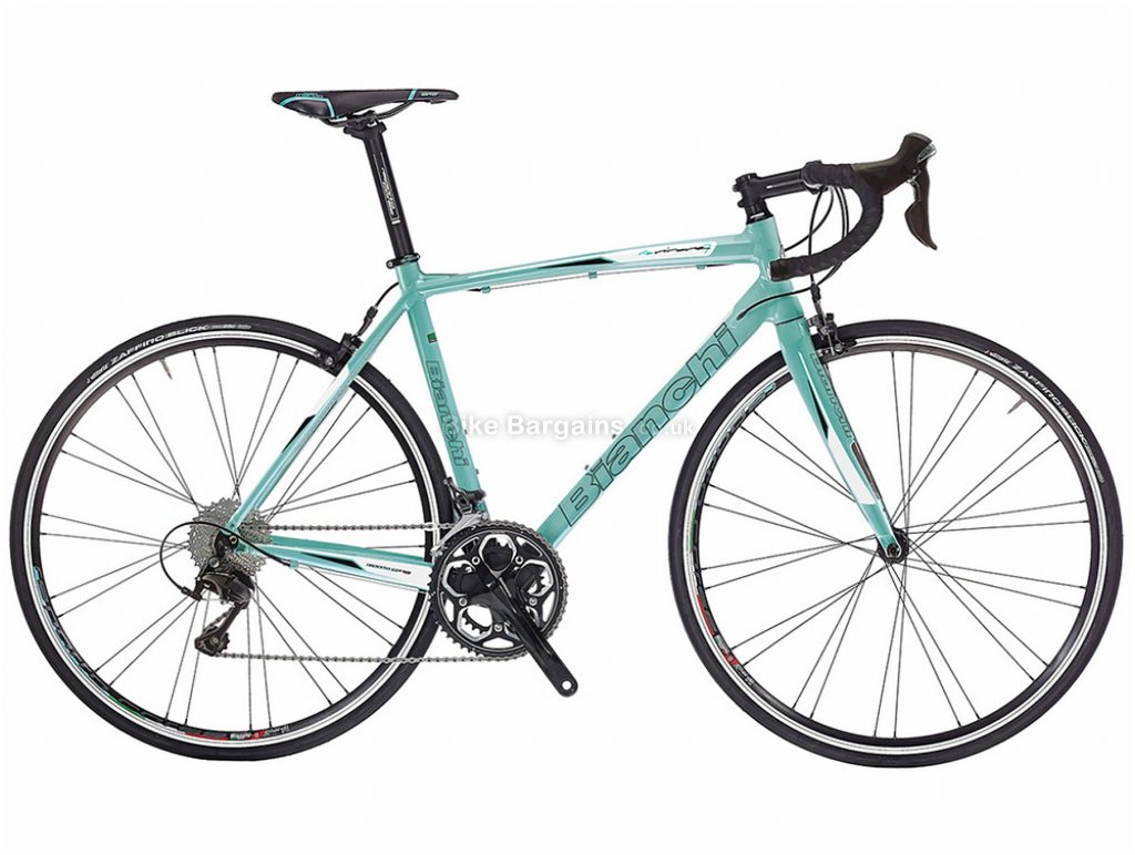 Bianchi Via Nirone 7 Dama Bianca 105 Ladies Alloy Road Bike 2018 55cm, Turquoise, Alloy, Calipers, 22 Speed, 700c