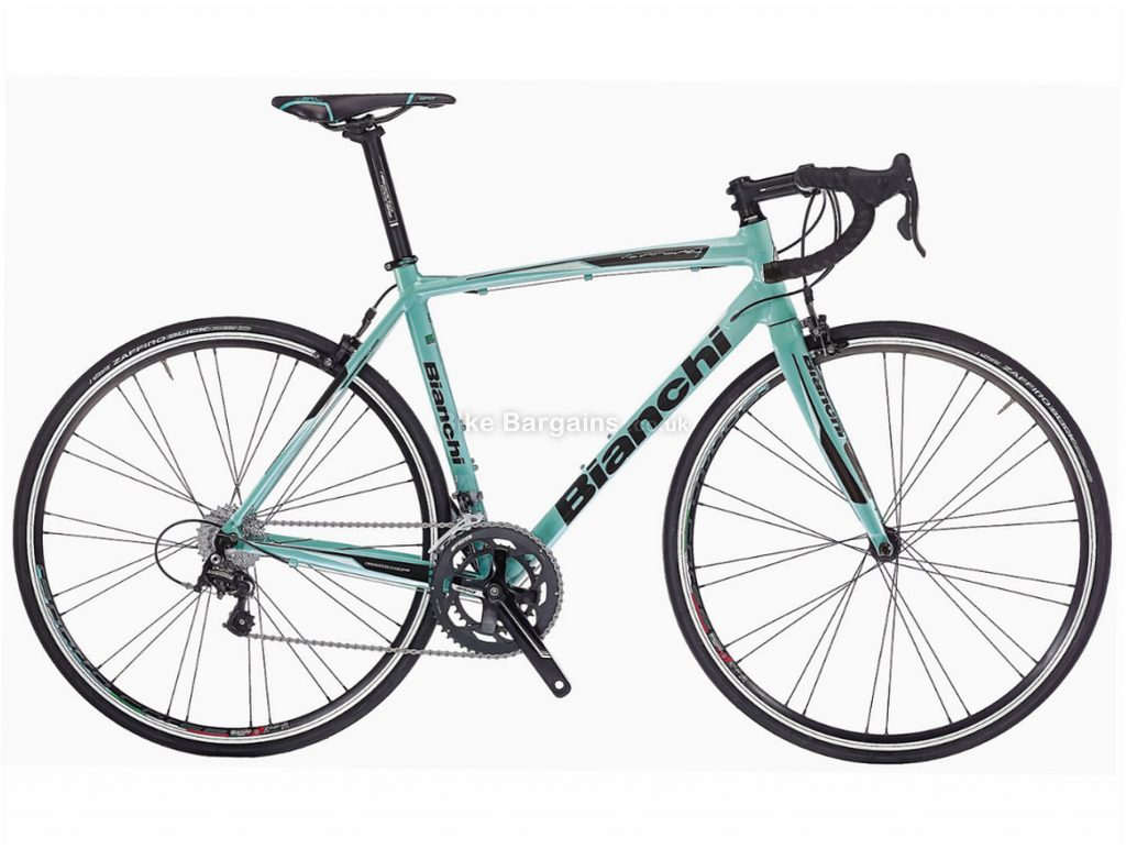 Bianchi Via Nirone 7 Xenon Alloy Road Bike 2018 55cm, Turquoise, Alloy, Calipers, 20 Speed, 700c