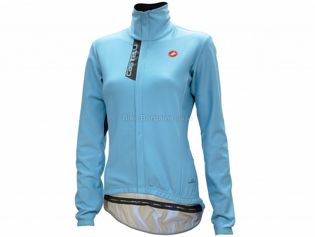 Castelli Aero Lite Ladies Jacket XS,S,M,L,XL, Blue, Long Sleeve