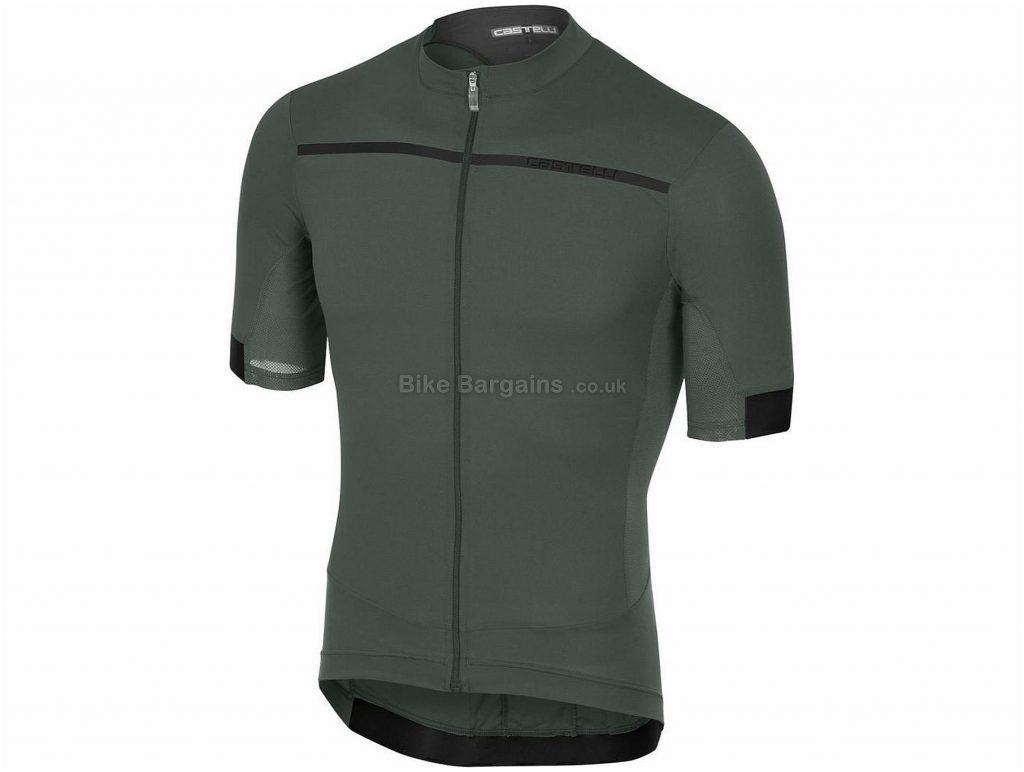 Castelli RS Superleggera Short Sleeve Jersey 2018 L, Blue, Grey, Short Sleeve