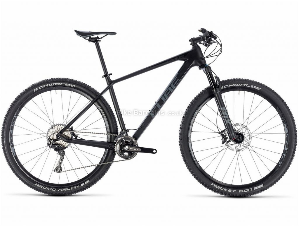 "Cube Reaction C:62 Race 29 Carbon Hardtail Mountain Bike 2018 17"", Grey, 29"", Carbon, 22 Speed, 11.3kg"