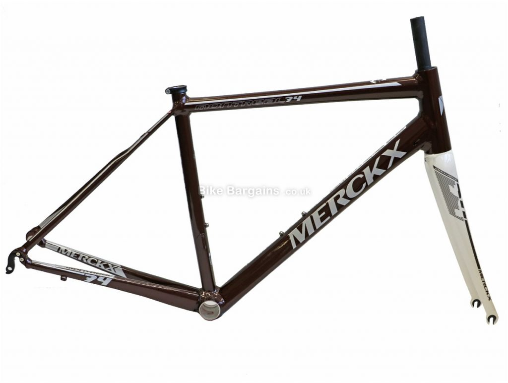 Eddy Merckx Montreal 74 Ladies Alloy Road Frame 2017 M, Grey, Red, Green, Alloy, inc forks, 700c, Caliper Brakes