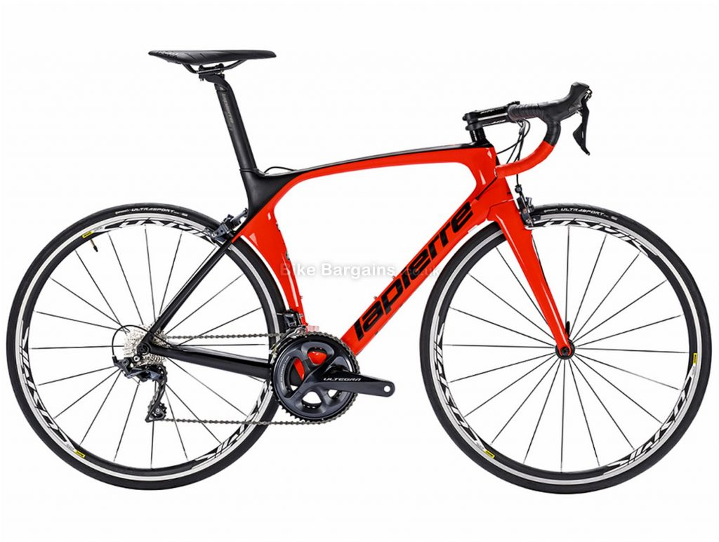 Lapierre Aircode SL 600 Carbon Road Bike 2018 L, Red, Black, Carbon, Calipers, 22 Speed, 700c