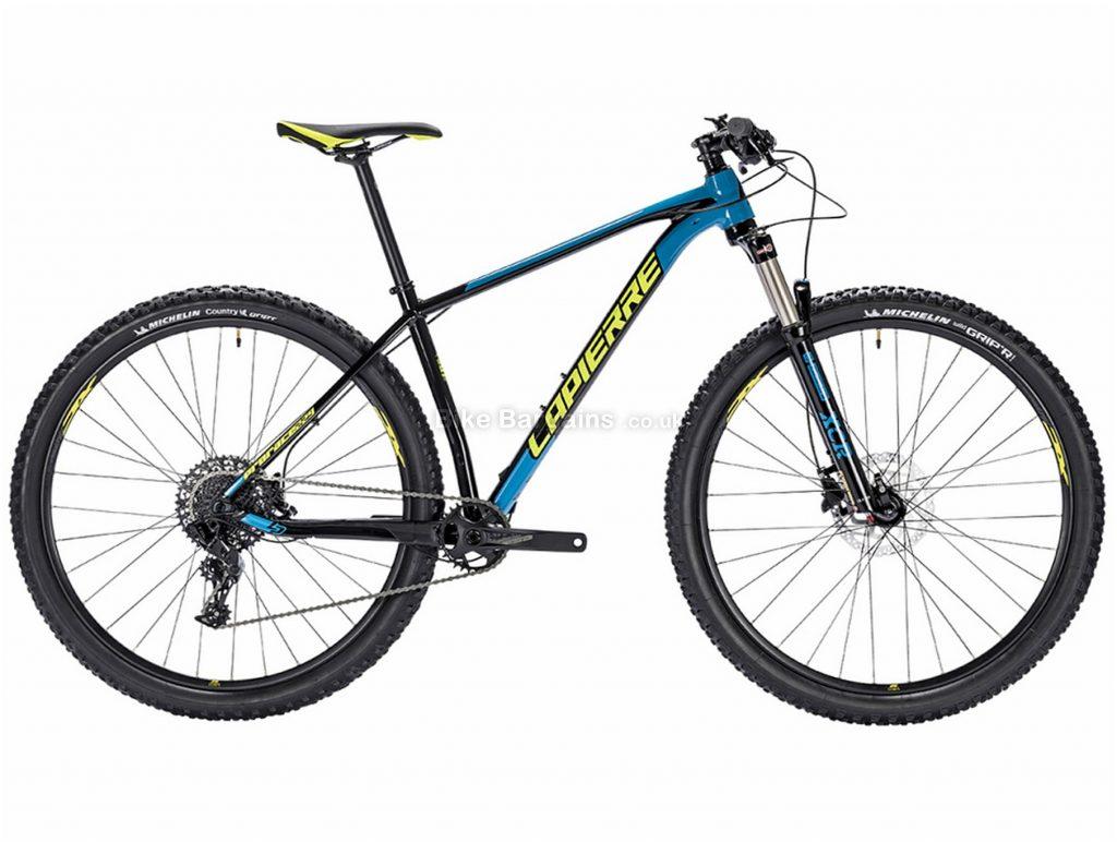 "Lapierre Prorace 229 Alloy Hardtail Mountain Bike 2018 M, Blue, Yellow, 29"", Hardtail, 11 Speed, Alloy, Disc"