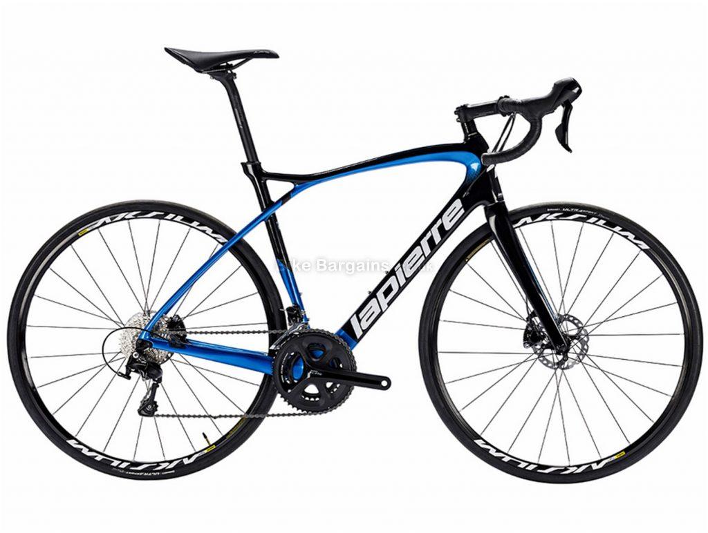 Lapierre Pulsium 500 Disc Carbon Road Bike 2018 L, Black, Blue, Carbon, Disc, 22 Speed, 700c