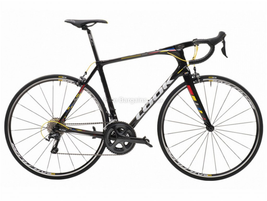 Look 675 Light Ultegra Pro Team Carbon Road Bike 2017 XL, Black, Carbon, Calipers, 22 Speed, 700c