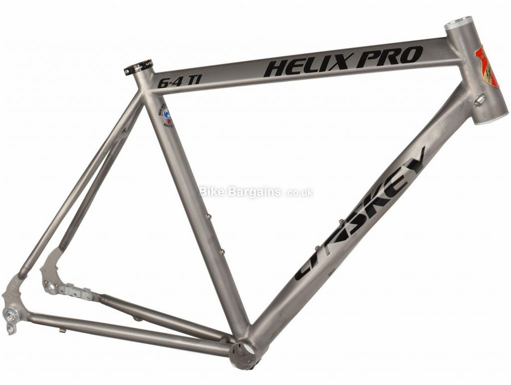 Lynskey Helix Pro Disc Titanium Road Frame 2018 50cm, Silver, Titanium, 700c, 28c clearance, Disc Brakes
