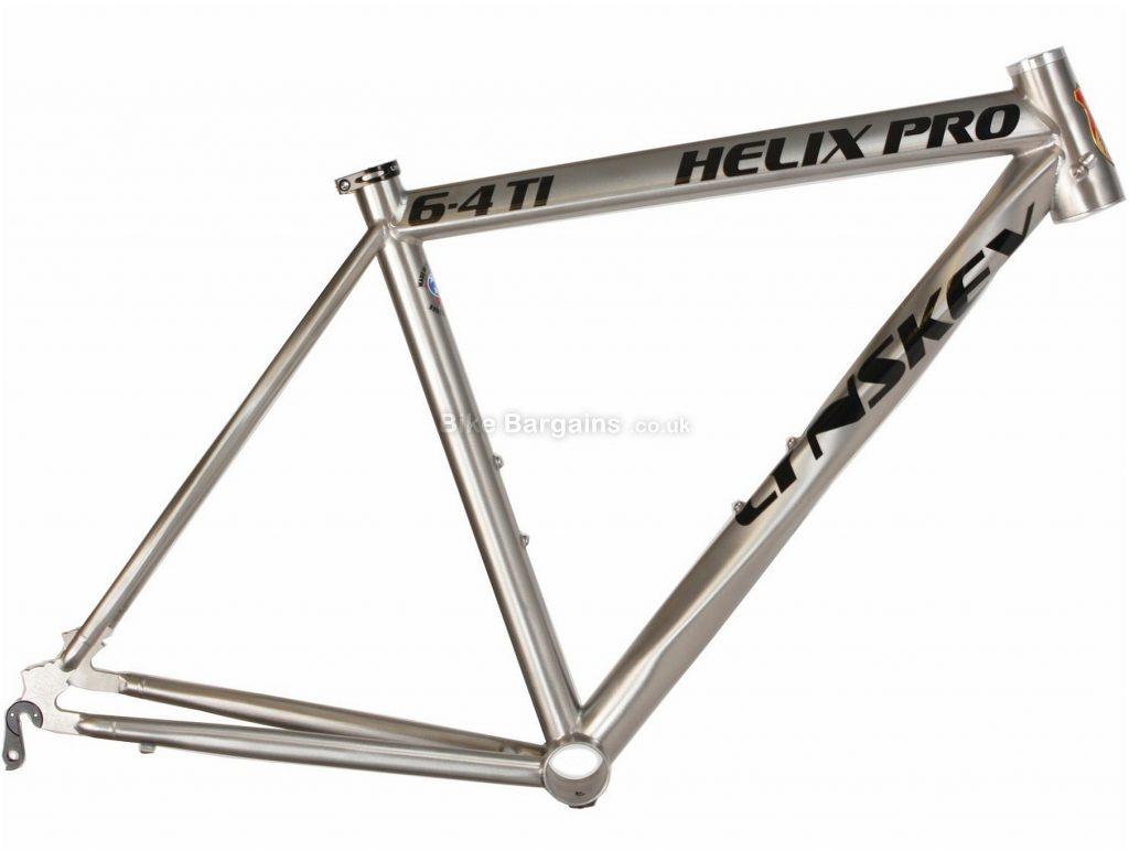Lynskey Helix Pro Titanium Road Frame 2018 56cm, Silver, Titanium, 700c, 28c clearance, Caliper Brakes