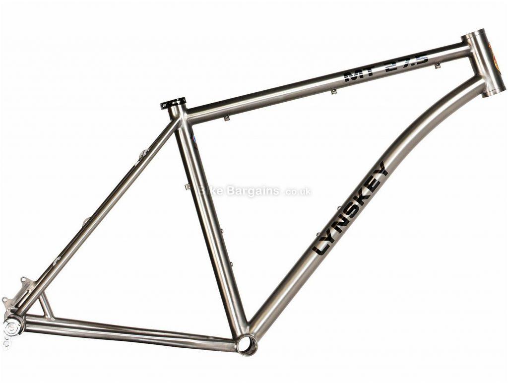 """Lynskey MT 27.5 Titanium Mountain Bike Frame 2018 17"""",19"""",21"""", Silver, Titanium, 27.5"""""""