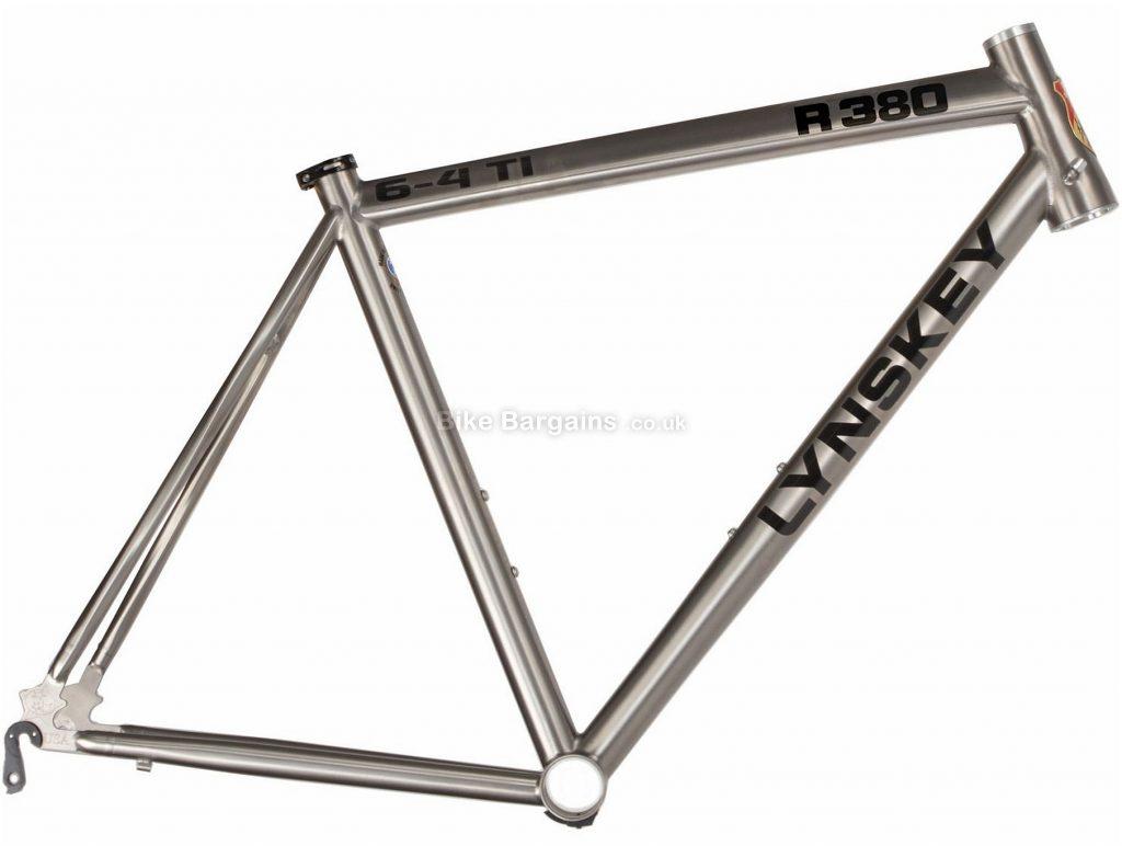 Lynskey R380 Titanium Road Frame 2018 54cm, 56cm, Silver, Titanium, 700c, 28c clearance, Caliper Brakes