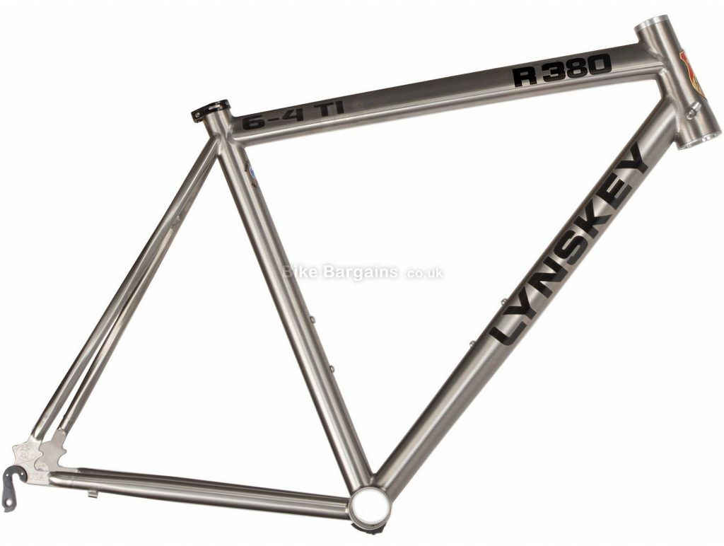 Lynskey R380 Titanium Road Frame 2018 50cm, 54cm, 56cm, Silver, Titanium, 700c, 28c clearance, Caliper Brakes