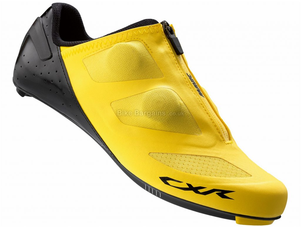 Mavic CXR Ultimate II Road Shoes 2016 46, Yellow, Black, 260g, Carbon