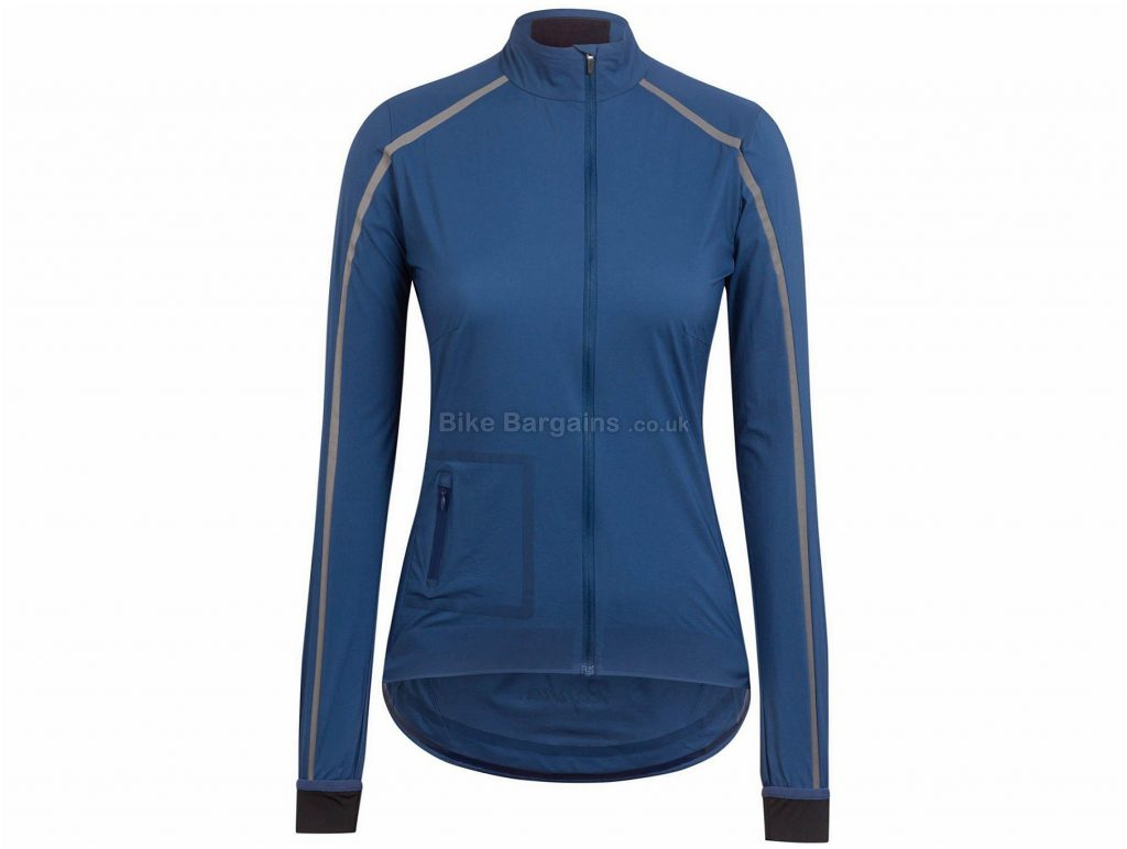 Rapha Ladies Classic Wind II Jacket M, Blue, Long Sleeve