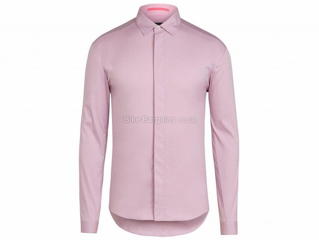 Rapha Poplin Long Sleeve Shirt XS,L,XL,XXL, Blue, Pink, Long Sleeve