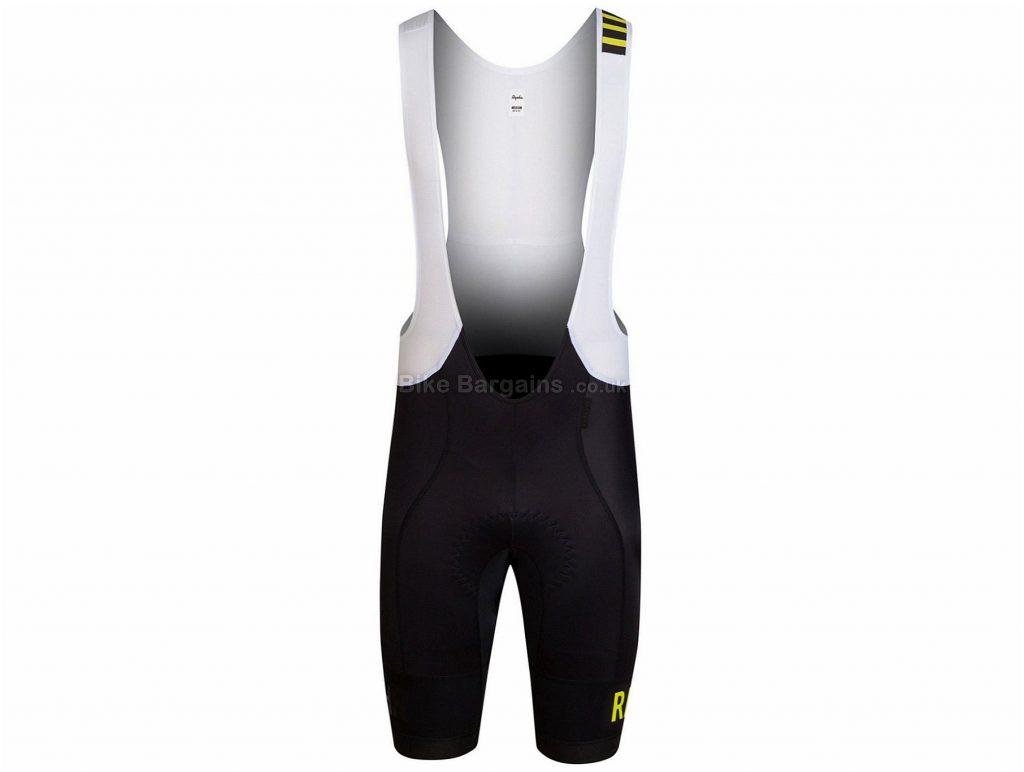 Rapha Pro Team Bib Shorts XS, Black, White