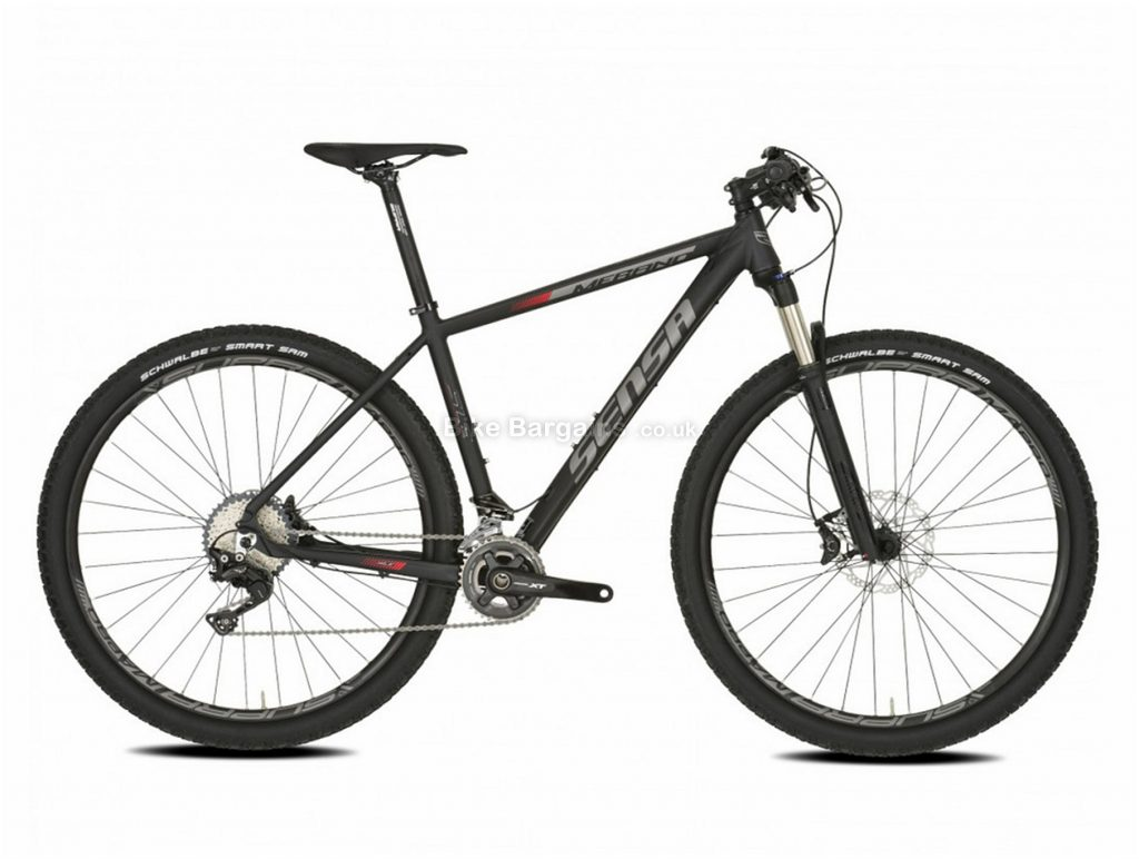 "Sensa Merano SLE 29"" Alloy Hardtail Mountain Bike 2018 19"", Grey, Black, Alloy, 29"", 11 Speed, Hardtail"