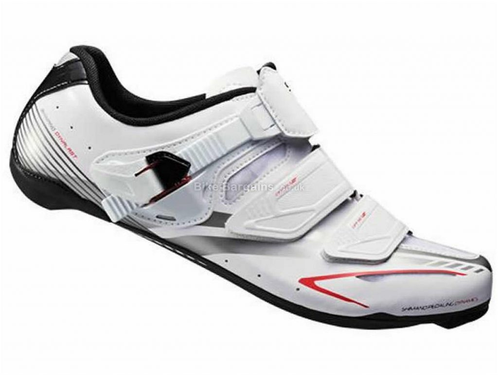 Shimano Ladies WR83 SPD-SL Shoes 36, White, Carbon, 486g