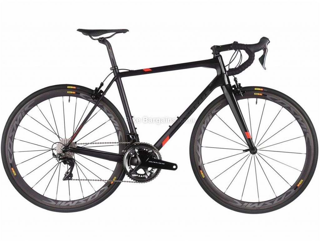 Vitus Vitesse Evo Team Dura-Ace Carbon Road Bike 2018 58cm, 60cm - 62cm is extra, Black, 700c, Carbon, 22 Speed